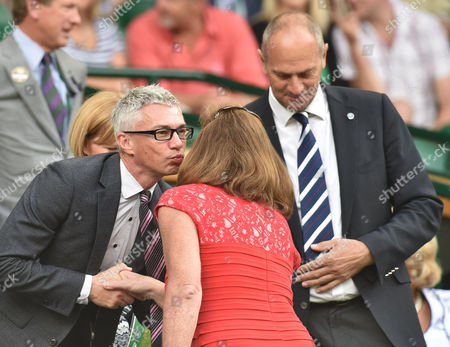 Jonathan Edwards, Ann Redgrave and Sir Steve Redgrave in The Royal Box