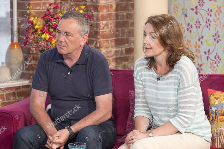 Professor David Wilson and Jayne McCartney