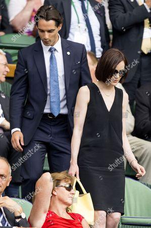 Michelle Dockery with boyfriend John Dineen