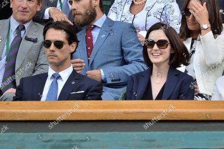 Michelle Dockery and boyfriend John Dineen