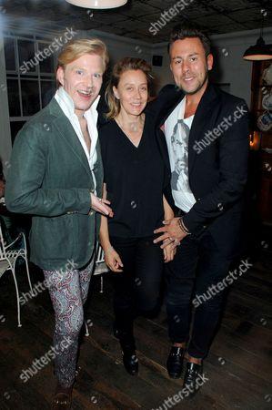 Editorial photo of 'Mrs Paisley's Lashings' Jo Wood's pop-up dining experience, Somerset, Britain - 26 Jun 2014