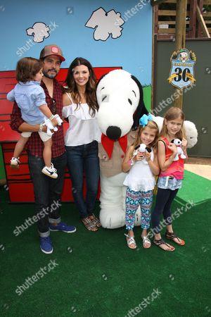 Ali Landry and Alejandro Gomez Monteverde with children