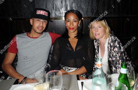 EckSell, Jade Johnson and Anna Winslet