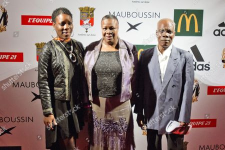 Sister and Parents of Jean Marc Mormeck