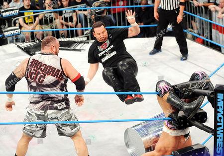 Editorial image of TNA Impact Wrestling at the Manhattan Center, New York, America - 25 Jun 2014