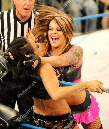 Stock Picture of Velvet Sky and Gail Kim