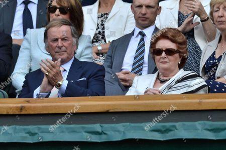 Sir Terry Wogan and Helen Joyce