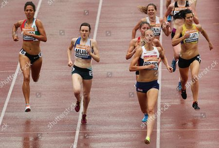 Hannah England during the Women's 1500 metres