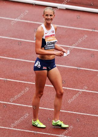 Stock Picture of Hannah England during the Women's 1500 metres