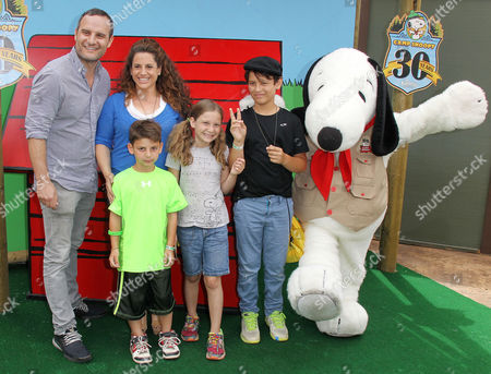 Editorial image of Camp Snoopy 30th Anniversary Party at Knott's Berry Farm, Los Angeles, America - 26 Jun 2014
