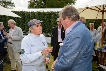 Sir Jackie Stewart and Johann Rupert