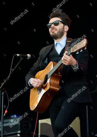 Editorial image of Roddy Hart & The Lonesome Fire in concert, Bannockburn, Scotland, Britain - 29 Jun 2014