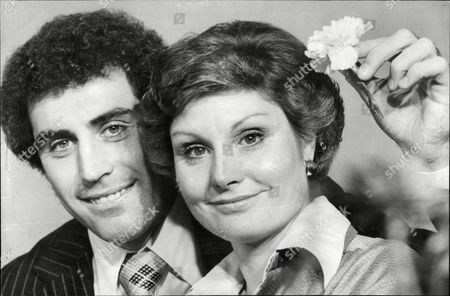 Angela Rippon Newsreader And Footballer Peter Shilton Were Today Presented With The Head Of The Year Awards. The Awards Are Presented Annually By The National Hairdressers Federation.