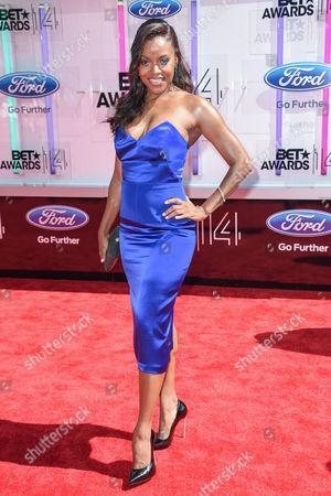 Editorial image of BET Awards, Arrivals, Los Angeles, America - 29 Jun 2014
