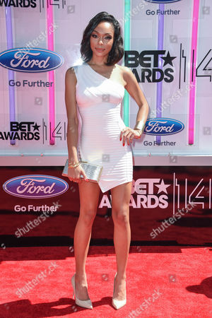 Editorial photo of BET Awards, Arrivals, Los Angeles, America - 29 Jun 2014