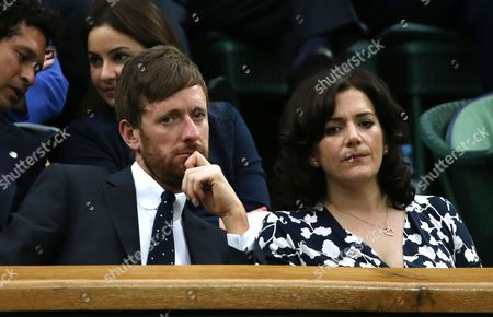 Bradley Wiggins and wife Catherine Wiggins in the Royal Box