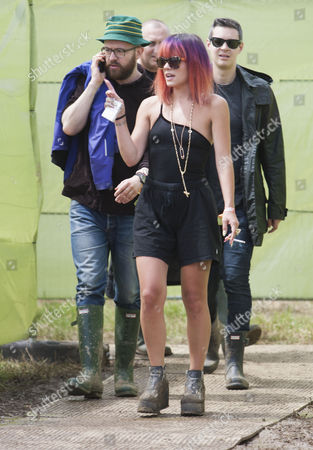 Seb Chew (Polydor record executive) and Lily Allen