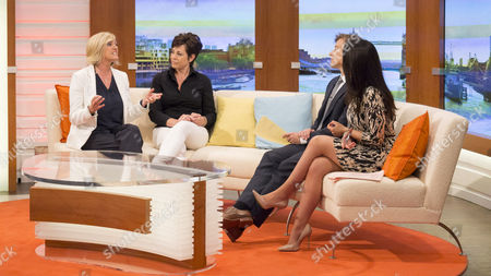 Jacqui Marson and Penny Mallory with Ben Shephard and Susanna Reid