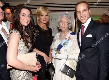 Jodie Bredo - Kate Middleton lookalike, Alison Jackson, Mary Reynolds - The Queen lookalike and Simon Watkinson - Prince William lookalike