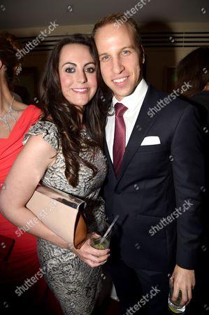 Jodie Bredo - Kate Middleton lookalike and Simon Watkinson - Prince William lookalike
