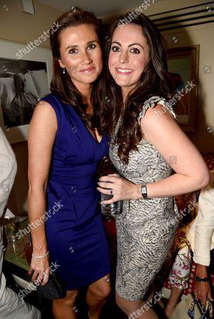 Pippa Middleton lookalike Sarah Carrington and Kate Middleton lookalike Jodie Bredo