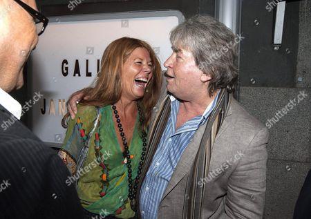 Mick Taylor and Kerstin Arndt