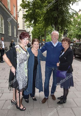 Marilyn Murray, Rolling Stones manager Sherry Daly, Steve Daly and Jennifer Taylor