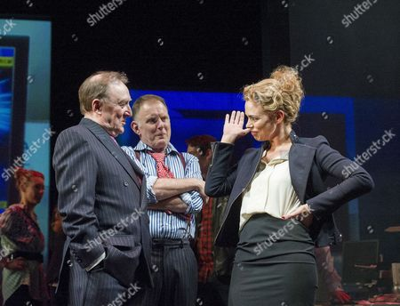 'Great Britain' - Dermot Crowley as Paschal O'Leary, Robert Glenister as Wilson Tickel, Billie Piper as Paige Britain