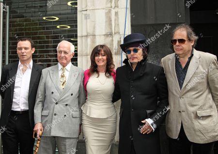 Andrew Lancel, Geoffrey Ellis, Vicki Michelle MBE, Adam Ant and David Stark