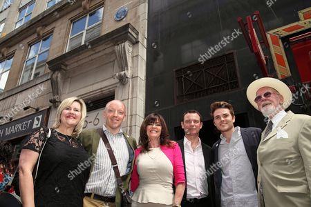 Jen Hayes, Bill Elms, Vicki Michelle MBE, with Adrew Lancel, Will Finlanson and Joe Flannery