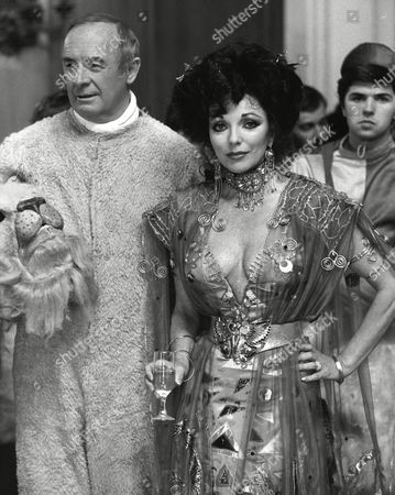 William Franklyn and Joan Collins