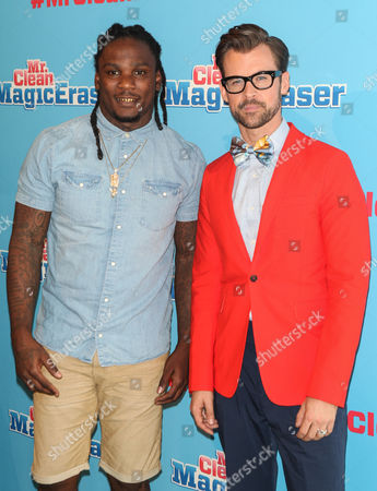 Chris Johnson and Brad Goreski