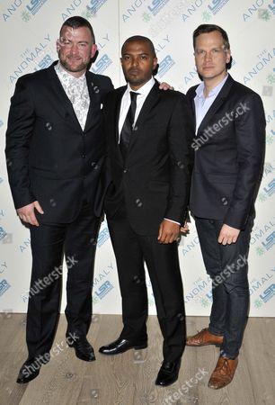 Lee Charles, Noel Clarke and Ali Cook