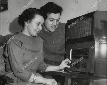 Ian Mcmillan (airdrieanians Fc) With His Wife Betty.