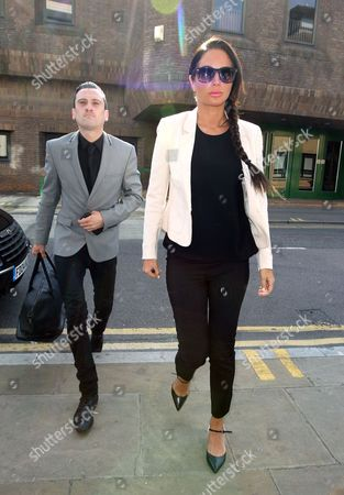 Editorial picture of Tulisa Contostavlos in court charged with assault, Chelmsford Magistrates Court, Essex, Britain - 02 Jul 2014