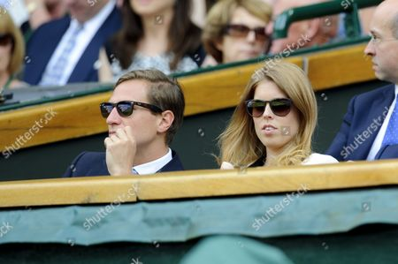 Dave Clarke and Princess Beatrice