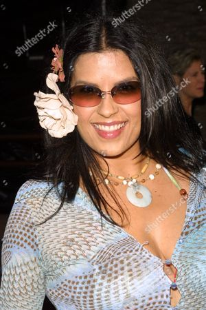 """Rebekah Del Rio arriving to the premiere of Universal Pictures' """"Blue Crush"""" at the Universal Amphitheatre in Universal City, California on August 8, 2002.  Universal City, California   Photo® Matt Baron/BEImages.net"""