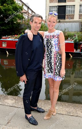 Stock Image of Alexander Werz and Caroline Winberg