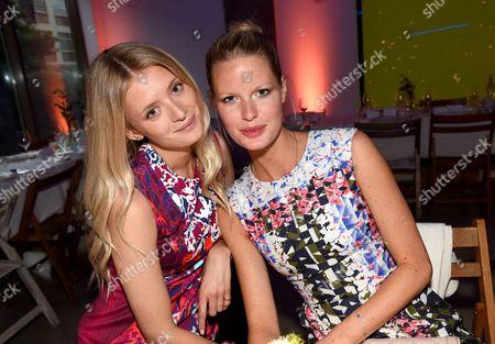 Stock Photo of Rebecca Corbin-Murray and Caroline Winberg
