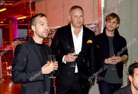 Peter Pilotto, John Demsey and Christopher de Vos