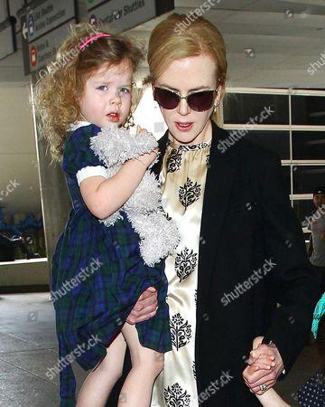Faith Urban and Nicole Kidman