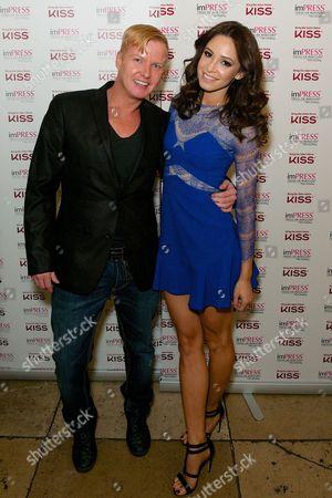Leighton Denny and Danielle Peazer