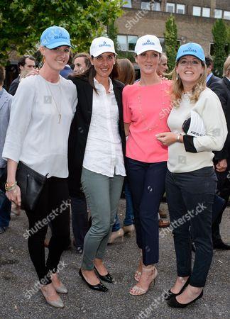 Jemima Hannon, Anna Lisa Balding, Philippa Hills and Izzi Beckett