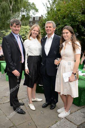 Simon Crisford, Kate Reardon, Charles Gordon-Watson and Georgina Crisford