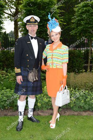Douglas Theobald And Mimi Theobald On Day One Of Royal Ascot 18.06.2013.