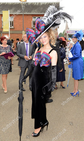 Editorial image of Mimi Theobald From Inverness At Royal Ascot On Ladies Day.