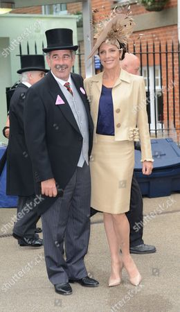 Sam Torrance And Suzanne Danielle At Royal Ascot On Ladies Day.