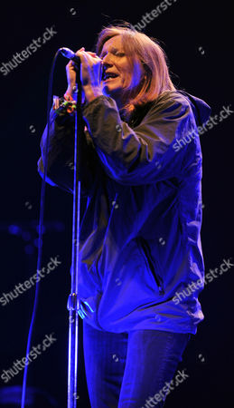 Portishead Lead Singer Beth Gibbons - The Other Stage - Glastonbury Music Festival Worthy Farm Pilton Somerset.