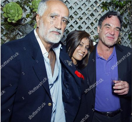 SERGIO PREMOLI WITH HEDI KHORSAND AND OLIVER STONE