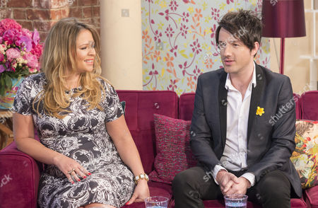 Kimberley Walsh and Alistair Griffin